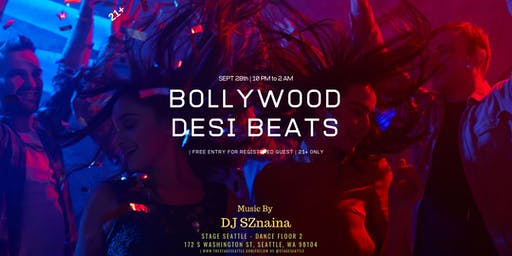 Bollywood Desi Beat  | FREE ENTRY | dance party