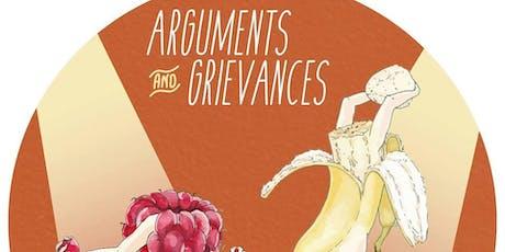 Arguments & Grievances Comedy Debates: October tickets