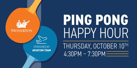 Swinerton Ping Pong and Happy Hour tickets