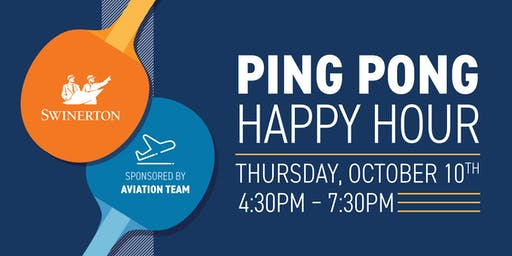 Swinerton Ping Pong and Happy Hour