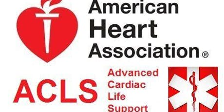 ACLS Course - Jan. 9-10, 2020 (2-Day) tickets