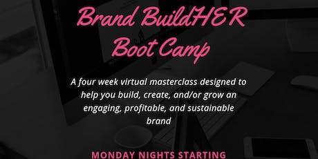 Brand BuildHER Bootcamp tickets