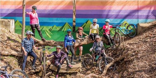 Women of Oz Flagship October Group MTB Ride