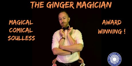 The Ginger Magician: Magic & Comedy  tickets