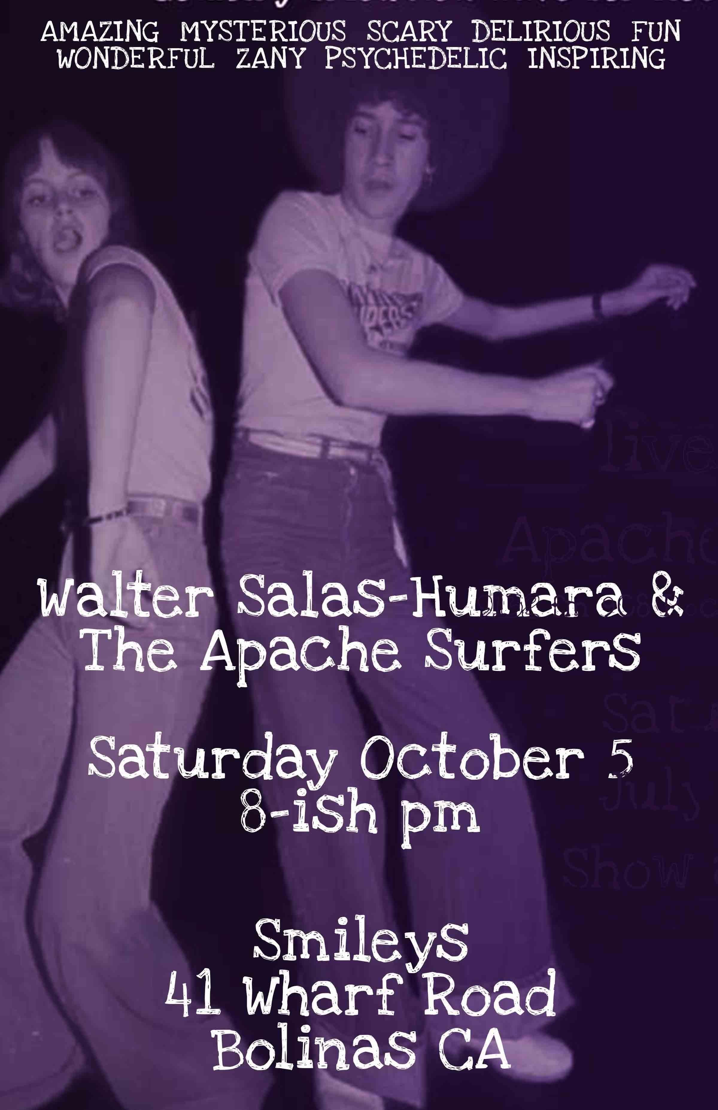 Walter Salas-Humara  and the Apache Surfers