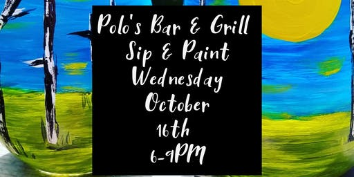 Polo's Bar & Grill Sip and Paint