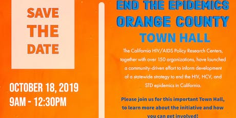 End the Epidemics Orange County Town Hall  tickets