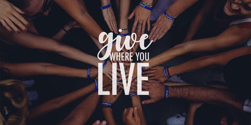 Give Where You Live - Fundraising Campaign