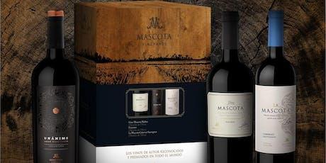 La Mascota Vineyards. Wine Tasting entradas
