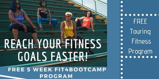 Fit4BootCamp Workout Tour - Los Angeles