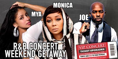 R&B Concert Weekend Getaway 3 Day/2 Nights
