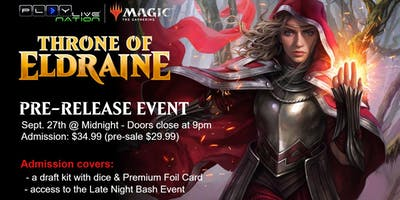 Throne of Eldraine - Magic: The Gathering Pre-Release
