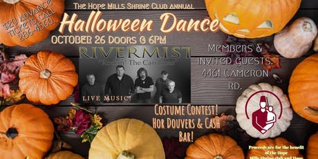 Hope Mills Shrine Annual Halloween Dance tickets