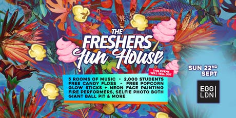 Freshers Fun House tickets