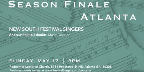 New South Festival Singers 35th Season Finale Concert tickets