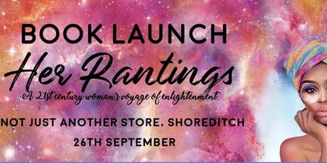 Her Rantings Official Book Launch tickets