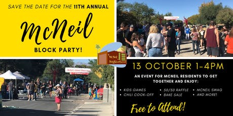 11th Annual McNeil Block Party tickets