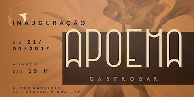 Inauguração Apoema Gastrobar