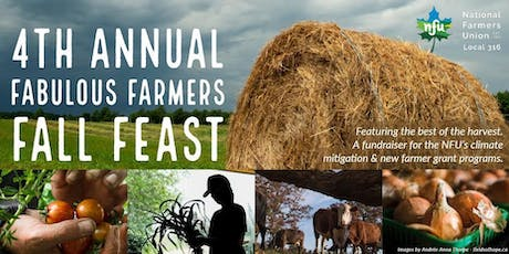 Fourth Annual Fabulous Farmers Fall Feast tickets