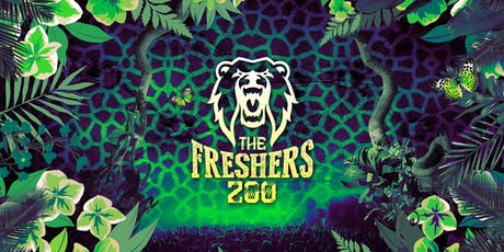 The Freshers Zoo - London Freshers 2019 tickets