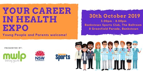 Your Career in Health Expo tickets