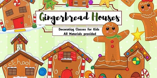 Kids Gingerbread Decorating Class