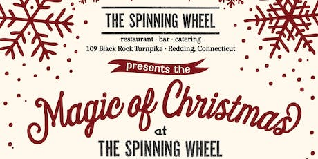 """The """"Magic of Christmas"""" Show at The Spinning Wheel - Weds Dec 4th 2019 - Matinee tickets"""