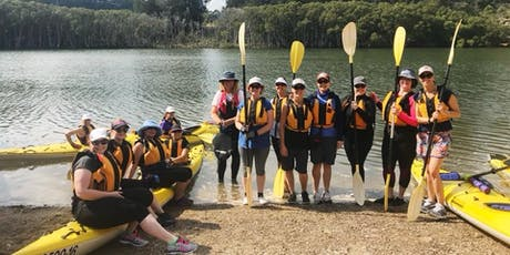 Women's Easy Kayaking Trip: Lane Cove // Sunday 1st December  tickets
