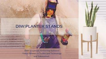 DIW: Planter Stands