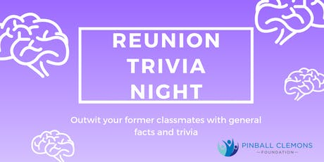 REUNION TRIVIA NIGHT tickets