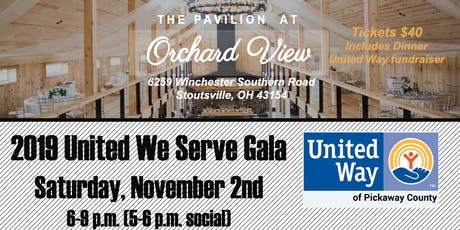 2019 United We Serve Gala tickets