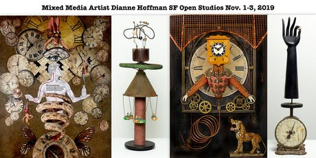 Collage + Assemblage Artist Dianne Hoffman- SF Open Studios 2019 tickets