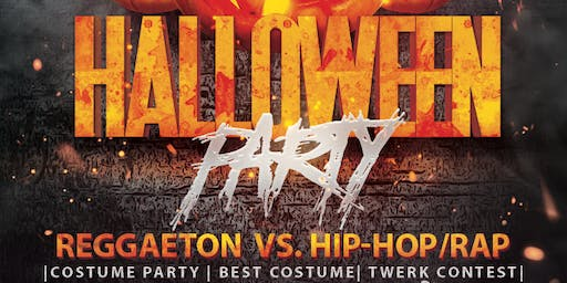 Halloween Party- Reggaeton vs. Hip-Hop