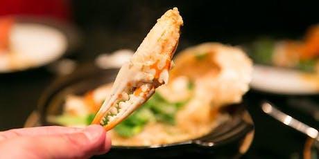 Kelowna Seafood Celebration: Crab + Chardonnay Feast tickets