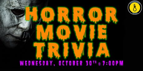 Horror Movie Trivia w/ Hangman tickets
