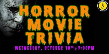 Horror Movie Trivia w/ Hangman tickets