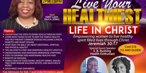 Miracle Rock 3:16 Presents Live Your Healthiest Life In Christ!