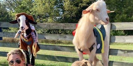 Goat Yoga Nashville- Halloween Spooktacular tickets