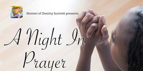 A Night In Prayer 2019 tickets