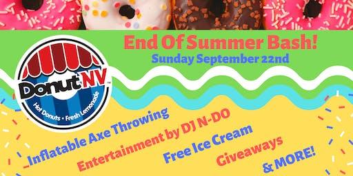 End of Summer Bash at DonutNV Pottstown!
