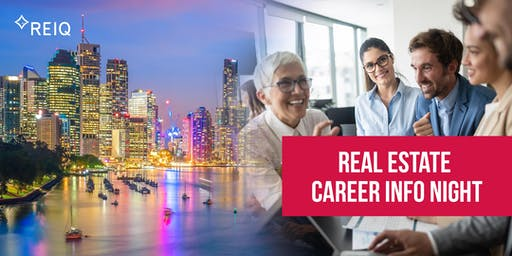 Real Estate Session |  Real Careers, an evening with REIQ