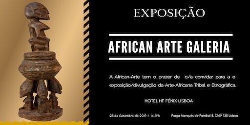 Exposição da Arte Africana Tribal e Etnográfica