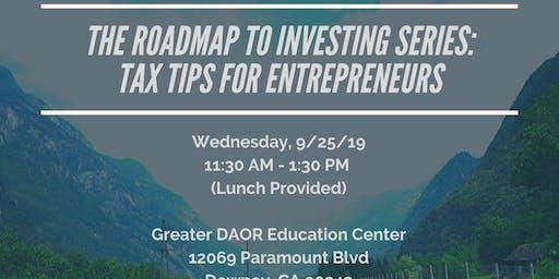 Tax Tips for Entrepreneurs!