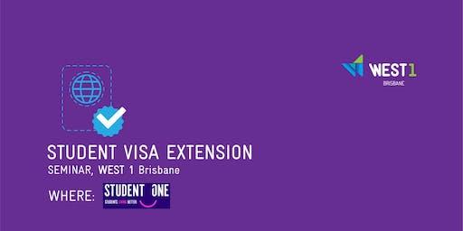 Seminar - Visa extension + Pizza