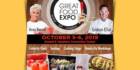 Great Food Expo, Chicago October 5-6, 2019 tickets