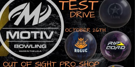 Motiv Test Drive Out Of Sight Pro Shop tickets