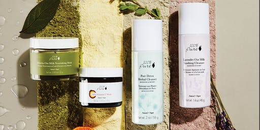 Fall Mini-Facials with all natural 100% Pure products