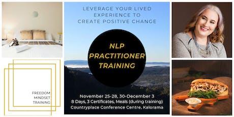 NLP Practitioner Training tickets