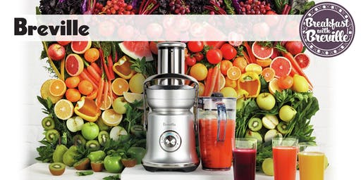 Huppin's Kitchen Event: Healthy Breakfast Options with Breville