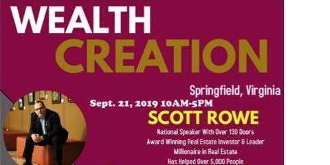 Wealth Creation Workshop with Scott Rowe